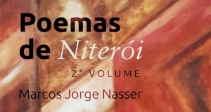 Niterói poems (autograph) by Marcos Jorge Nasser, cover - featured. Disclosure.
