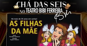 """TEA OF SIX"" at the Teatro Bibi Ferreira, featured. Disclosure."