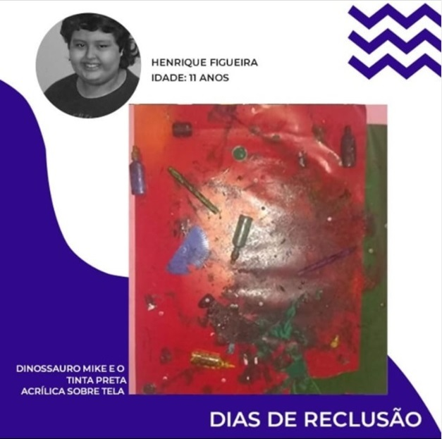 "DIAS DE RECLUSÃO PROJECT - Collection of Arts and Anthology of the ""Dias de Reclusão"" Project, Henrique Figueira. Disclosure."