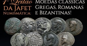 Flávia Cardoso Soares Auctions: 1º Numismatic Jafet Auction - Classical Greek Coins, Romans and Byzantines, featured. Disclosure.